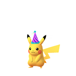 party hat pikachu