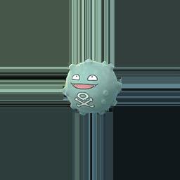 Pokemon GO Shiny Koffing