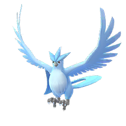 Shiny Articuno in Pokémon GO