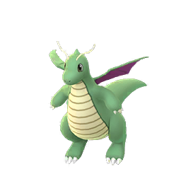 Pokemon GO Dragonite Shiny sprite (Male)