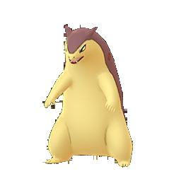 Pokemon GO Shiny Typhlosion