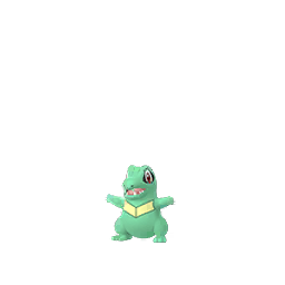 Pokemon GO Pokemon GO Totodile Shiny sprite (Male)