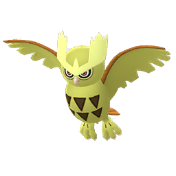 Pokemon GO Shiny Noctowl