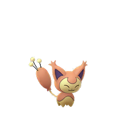 Pokemon GO Skitty Shiny sprite (Male)