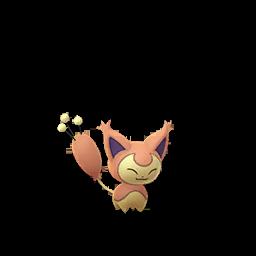 Pokemon GO Skitty Shiny sprite (Male)