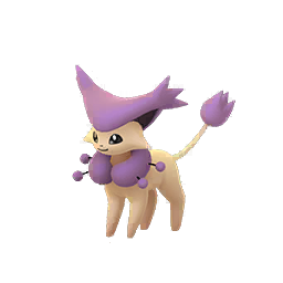 Pokemon GO Delcatty sprite (Male)