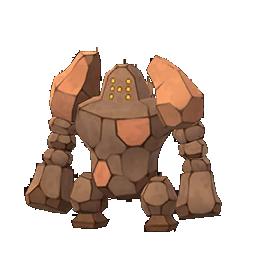 Shiny Regirock Pokémon GO