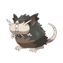 Pokemon GO Raticate (Alola)