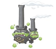 Pokemon GO Weezing (Galarian)