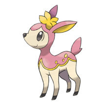 Pokemon GO Deerling (Spring)