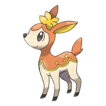 Pokemon GO Deerling (Autumn)