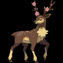 寵物小精靈GO Sawsbuck(春季)