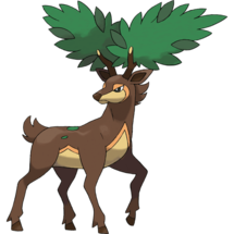 Pokemon GO Sawsbuck (Summer)
