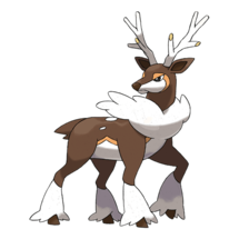 Pokemon GO Sawsbuck (Winter)