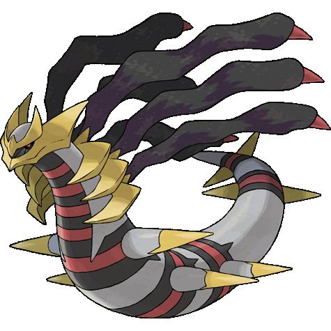 Giratina Mega Evolution