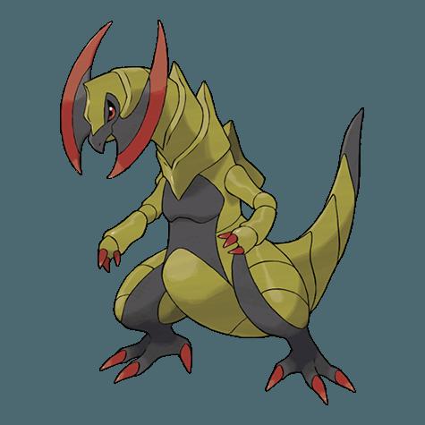 Super Rare HAXORUS CP 2900+ Pokemon Go